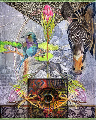 Digital Art - Peace In The Jungle by Linda Carruth