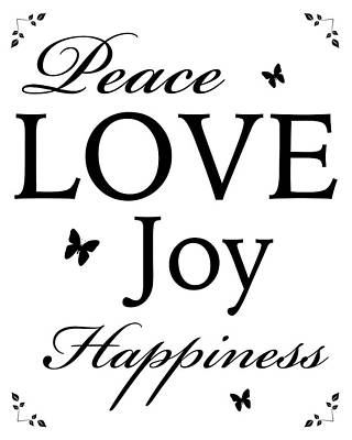 Target Threshold Nature - Peace, Love, Joy, Happiness by Joseph R Pesta