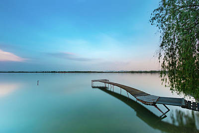 Photograph - Peacefull waters by Davor Zerjav