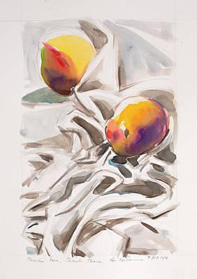Painting - Peach Hear And Peach There by Ann Heideman