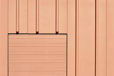Photograph - Peach Minimal by Stuart Allen