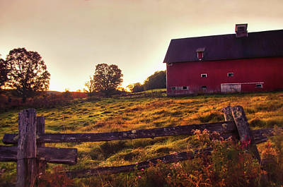 Photograph - Peacham Vermont Autumn by Joann Vitali