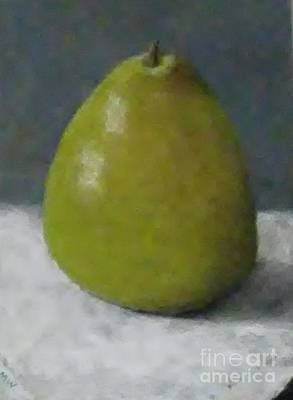 Pastel - Pear Study by Michelle Welles