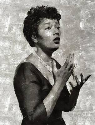 Jazz Royalty Free Images - Pearl Bailey, Music Legend Royalty-Free Image by Mary Bassett