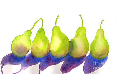 Painting - Pears by Amy Stielstra