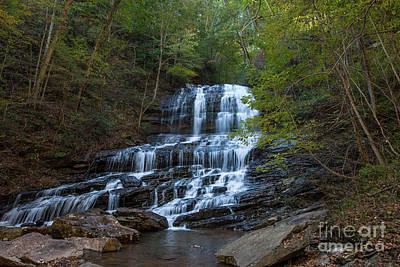 Photograph - Pearson's Fall And Glen - Saluda North Carolina by Dale Powell