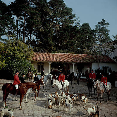 Photograph - Pebble Beach Hunt by Slim Aarons