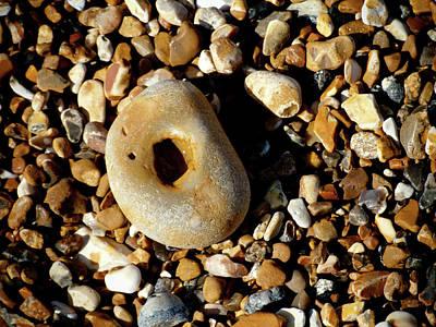 Photograph - Pebble On Pebbles by Helen Northcott