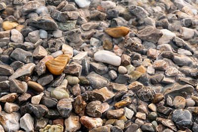 Photograph - Pebbles by Bruno Maric