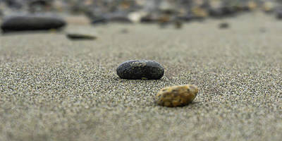 Photograph - Pebbles On The Beach by Dave Matchett