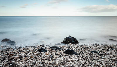 Photograph - Pebbles On The Shore by Jim Orr