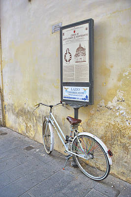 Photograph - Pedal Thru Rome by JAMART Photography
