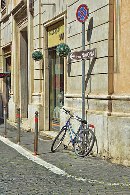 Photograph - Pedaling Thru Rome by JAMART Photography
