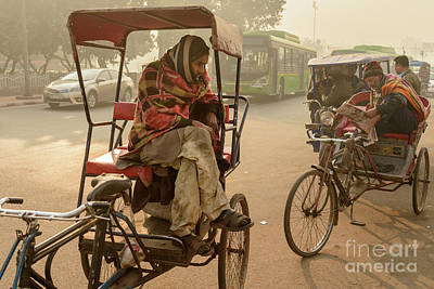 Photograph - Pedicabs 02 by Werner Padarin