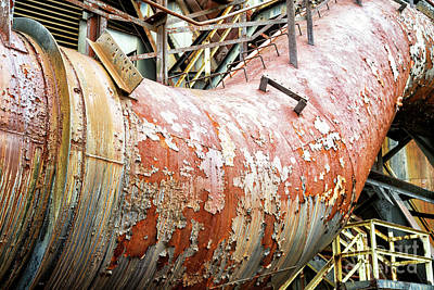 Photograph - Peeling Away At Bethlehem Steel by John Rizzuto