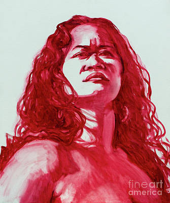 Painting - Pele Stands in Her Power by Isa Maria