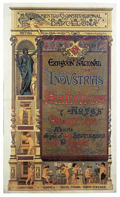 Comedian Drawings - Pellicer Josep Lluis Exposicion Nacional de Industrias Artisticas y Artes Decorativas 1892 by National Art Museum of Catalonia