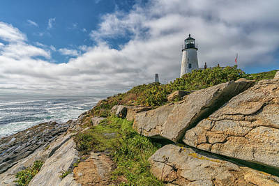 Photograph - Pemaquid Light by James Billings