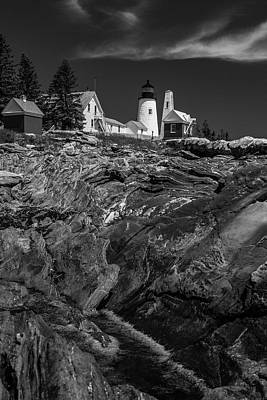 Photograph - Pemaquid Monochrome by ProPeak Photography