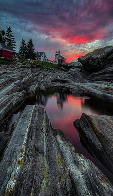 Digital Art - Pemaquid Sunrise by Patrick Groleau