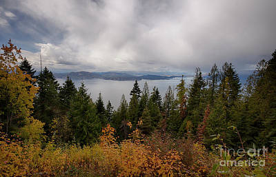 Photograph - Pend Oreille Autumn View by Idaho Scenic Images Linda Lantzy
