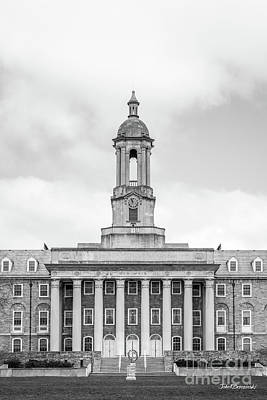 Photograph - Penn State University Old Main Vertical  by University Icons
