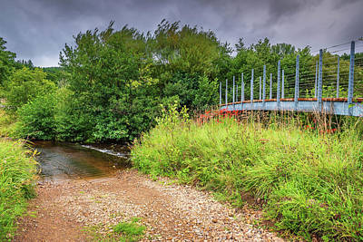 Pineapple - Pennine Way Footbridge over River Rede by David Head