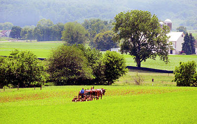 Photograph - Pennsylvania Amish Country - #1842 by Paul W Faust - Impressions of Light