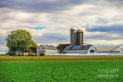 Photograph - Pennsylvania Farm by Nick Zelinsky