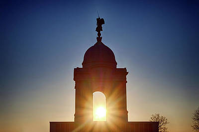 Photograph - Pennsylvania State Monument by Travis Rogers