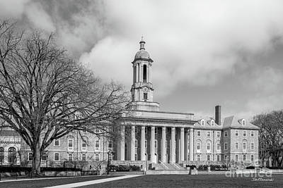 Photograph - Pennsylvania State University Old Main by University Icons