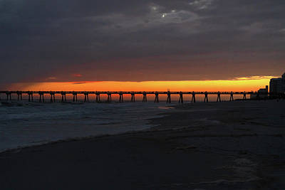 Photograph - Pensacola Beach Sunset by Sharon Popek