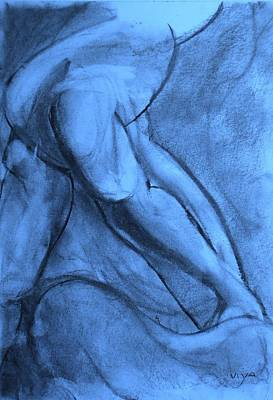 Drawing - Pentimenti by VIVA Anderson