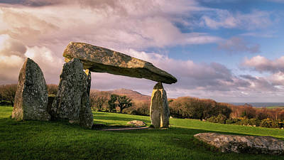 Elliott Coleman Royalty-Free and Rights-Managed Images - Pentre Ifan Burial Chamber by Elliott Coleman