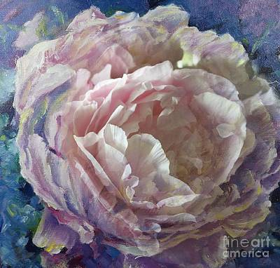 Painting - Peony -transparent Petals by Ryn Shell