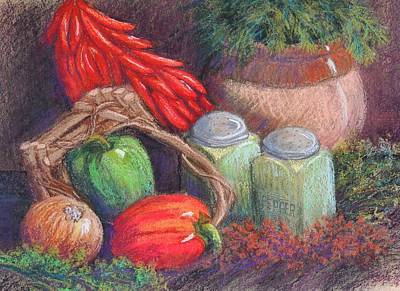 Wall Art - Pastel - Peppers, Etc. by Candy Mayer