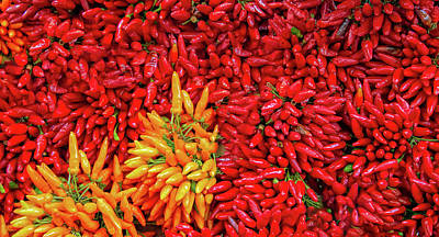 Photograph - Peppers Galore by Gary Slawsky