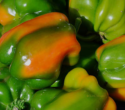 Photograph - Peppers by Kae Cheatham