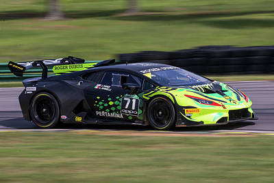 Photograph - Perez Spinelli Super Trofeo by Alan Raasch