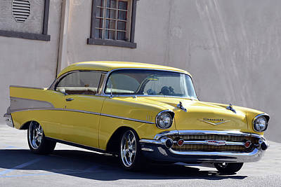 Photograph - Perfect Bel Air by Bill Dutting
