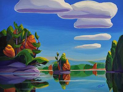 Painting - Perfect Day by Barbel Smith