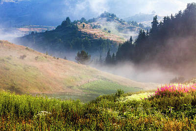 Mountain Royalty-Free and Rights-Managed Images - Perfect Morning by Evgeni Dinev