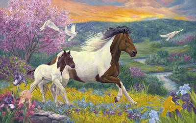 Painting - Perfect Spring Day by Lucie Bilodeau