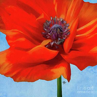Painting - Perfectly Poppy by Tammy Lee Bradley