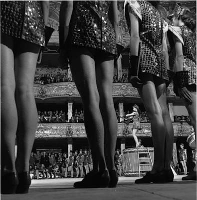 Photograph - Performers Legs by Ronald Startup
