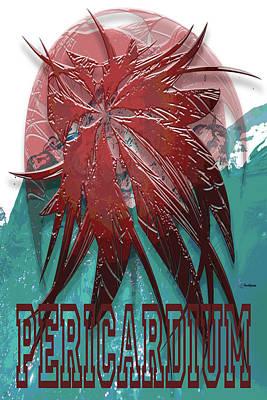 Digital Art - Pericardium Poster by Warren Lynn