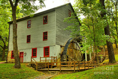 Photograph - Perry County Pa Grist Mill by Adam Jewell