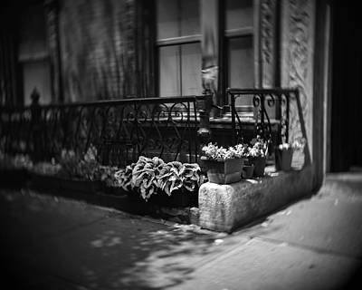 Sean Rights Managed Images - Perry Street Planter Royalty-Free Image by Bob Estremera
