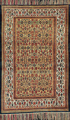 Wall Art - Photograph - Persian Carpet #2 by Ron Morecraft