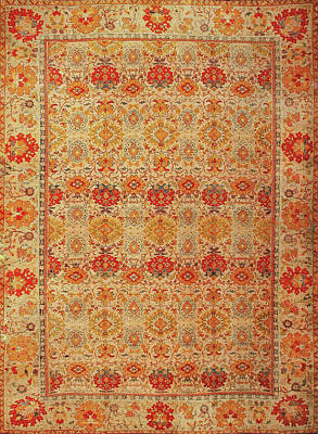 Wall Art - Photograph - Persian Carpet #3 by Ron Morecraft